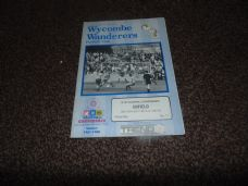 Wycombe Wanderers v Enfield, 1987/88